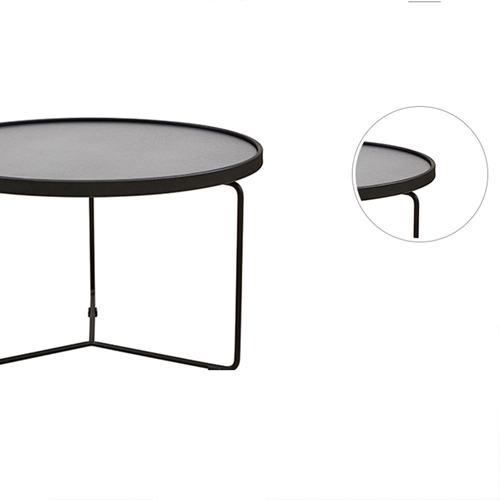 Austex Round Tempered Glass Table Image 13