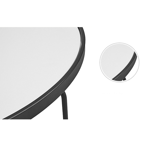 Austex Round Tempered Glass Table Image 15