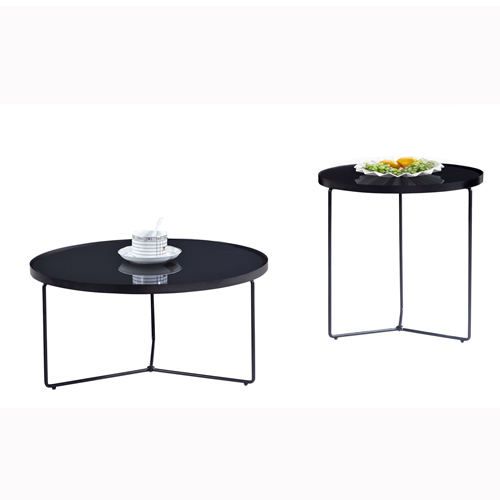 Austex Round Tempered Glass Table Image 3