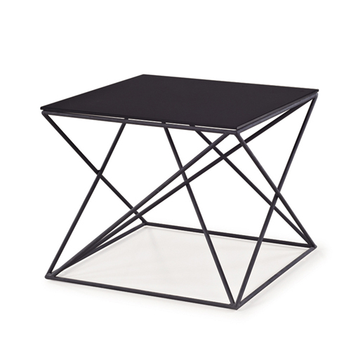 Unique Design Geometric Glass Table Image 3