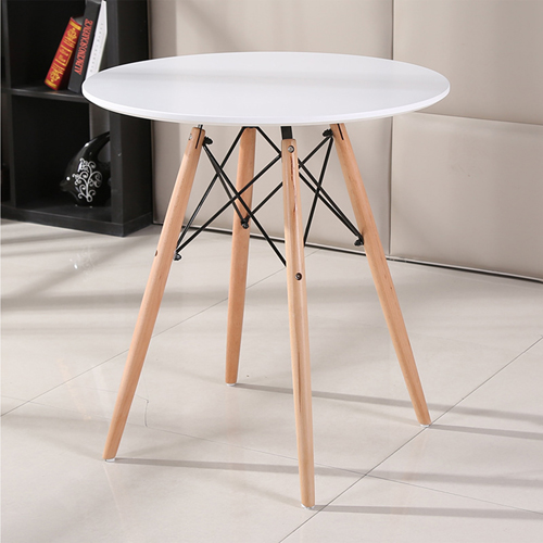 Round Eiffel Wooden Leg Table