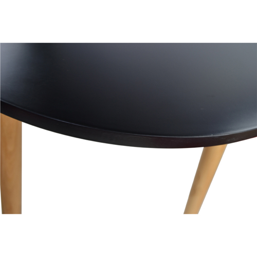 Helixer Square Table With Wood Legs Image 11