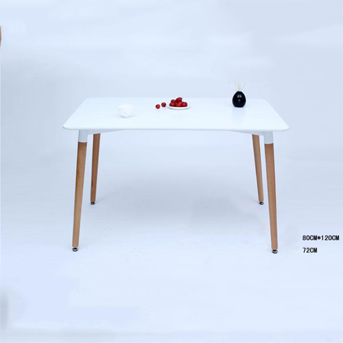 Helixer Square Table With Wood Legs Image 6