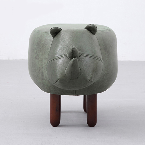 Creative Rhino Shaped Children Stool Image 5
