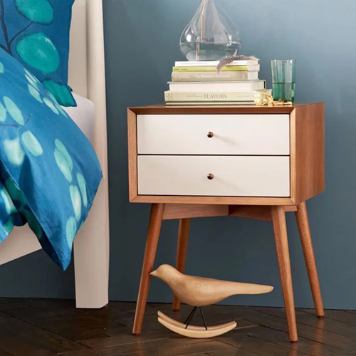Homelux Mid-Century Bedside Table