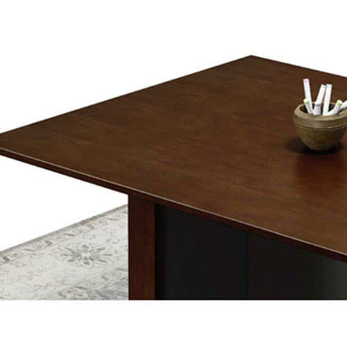 Wooden Conference Table with Long Lining Image 11