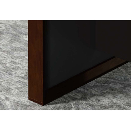 Wooden Conference Table with Long Lining Image 12