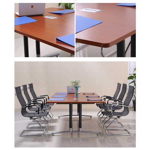 Modular Wooden Surface Conference Table Image 11