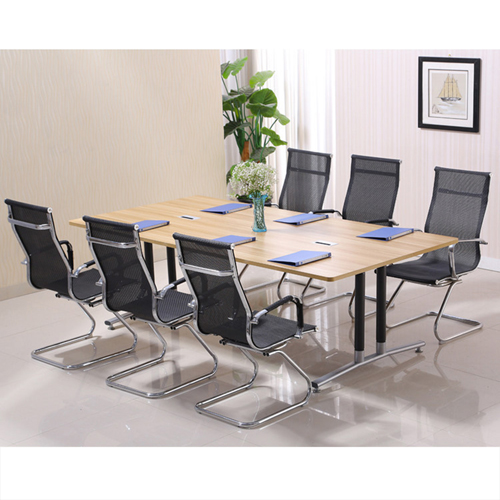 Modular Wooden Surface Conference Table Image 12