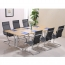 Modular Wooden Surface Conference Table Image 14