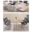 Modular Wooden Surface Conference Table Image 15