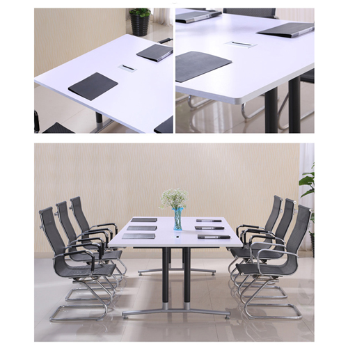 Modular Wooden Surface Conference Table Image 17