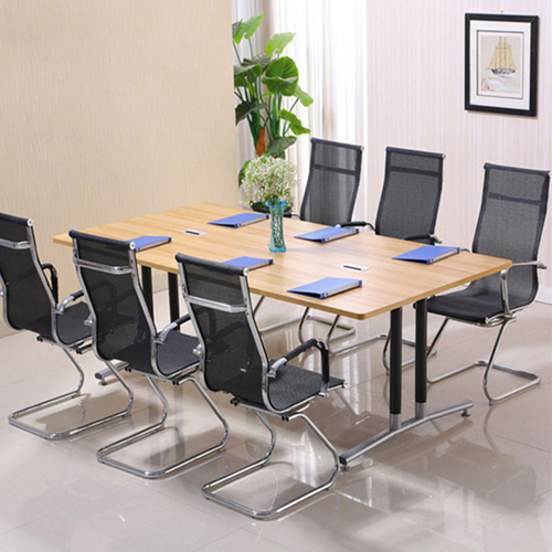 Modular Wooden Surface Conference Table