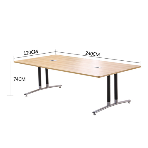 Modular Wooden Surface Conference Table Image 22