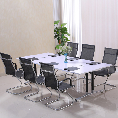 Modular Wooden Surface Conference Table Image 2