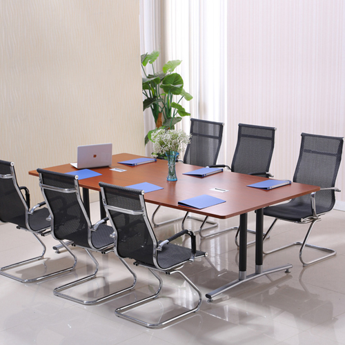 Modular Wooden Surface Conference Table Image 3