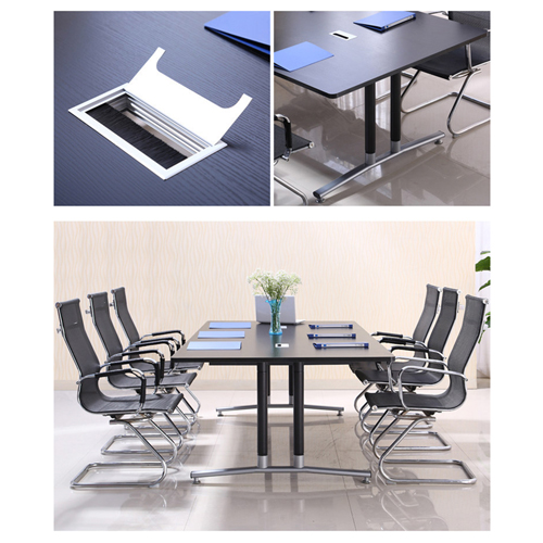 Modular Wooden Surface Conference Table Image 7