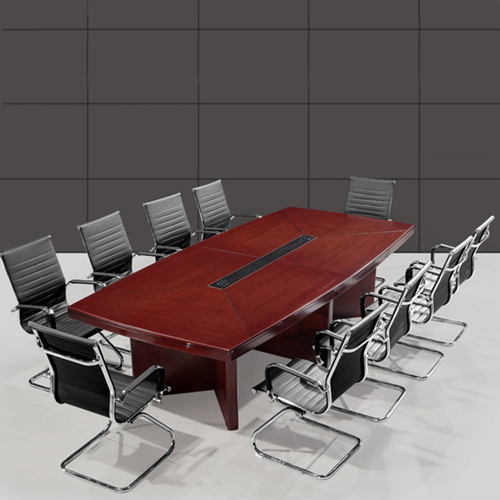 Wooden Rectangle Conference Table