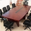 Wooden Rectangle Conference Table Image 2