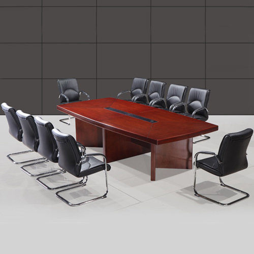 Wooden Rectangle Conference Table Image 3