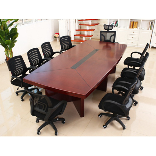 Wooden Rectangle Conference Table Image 4