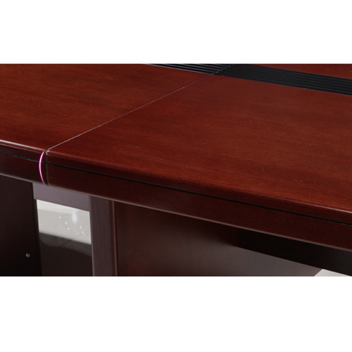 Wooden Rectangle Conference Table Image 6