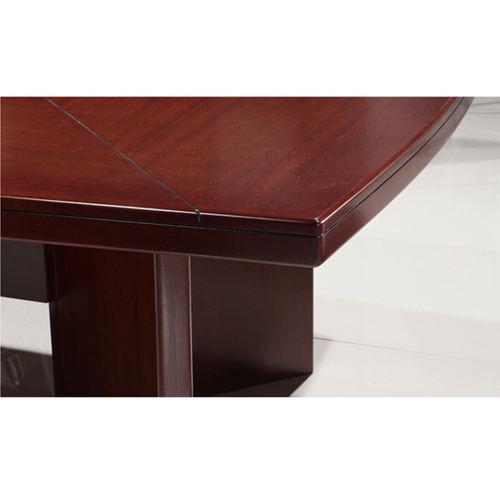 Wooden Rectangle Conference Table Image 7