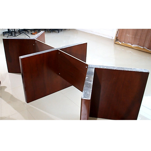 Wooden Rectangle Conference Table Image 8