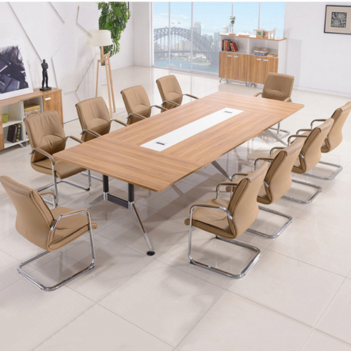 Training Conference Table with Wire Box