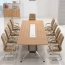 Training Conference Table with Wire Box Image 1