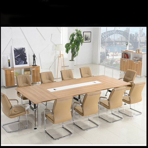 Training Conference Table with Wire Box Image 4