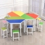 Primary School Color Table Set Image 2