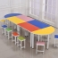 Primary School Color Table Set Image 3