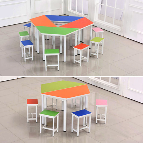 Primary School Color Table Set Image 4