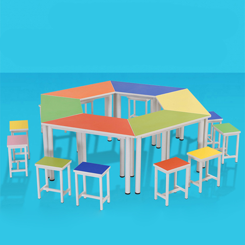 Primary School Color Table Set Image 5