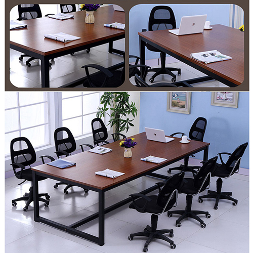 Small Meeting Durable Conference Table Image 11