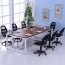 Small Meeting Durable Conference Table Image 2