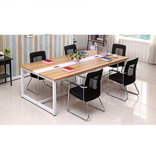 Standard Leather Lining Conference Table Image 9
