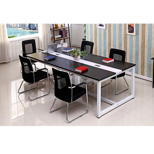 Standard Leather Lining Conference Table Image 10