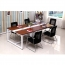 Standard Leather Lining Conference Table Image 11