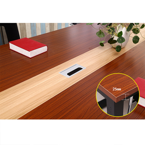 Standard Leather Lining Conference Table Image 14