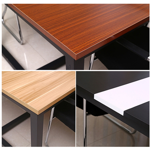 Standard Leather Lining Conference Table Image 16