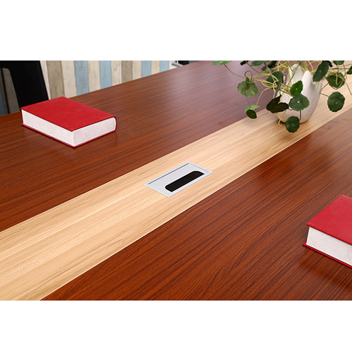 Standard Leather Lining Conference Table Image 17