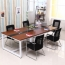 Standard Leather Lining Conference Table