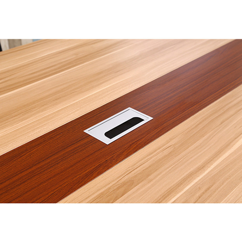 Standard Leather Lining Conference Table Image 19