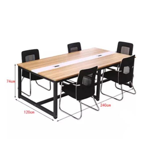 Standard Leather Lining Conference Table Image 23