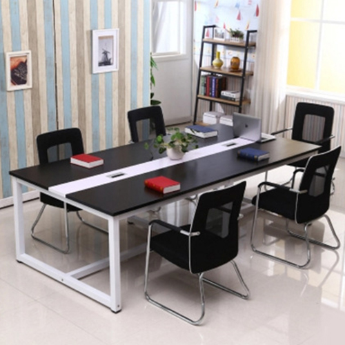 Standard Leather Lining Conference Table Image 2