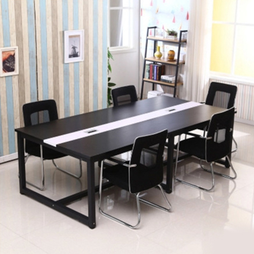 Standard Leather Lining Conference Table Image 3