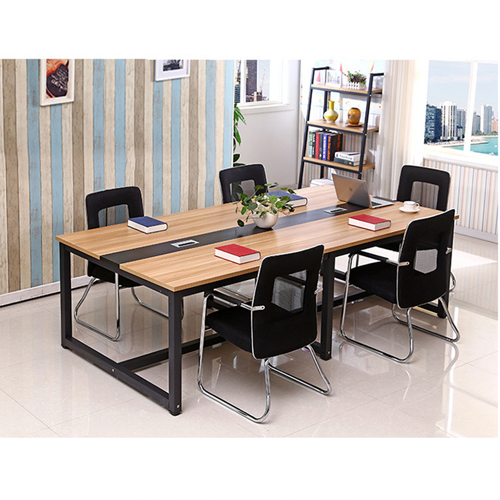 Standard Leather Lining Conference Table Image 4