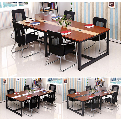 Standard Leather Lining Conference Table Image 6